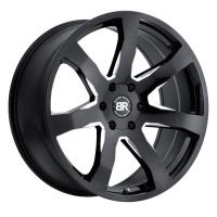 8,5*20 5*150 ET25 110,1 Black Rhino Mozambique Gloss Black With Milled Spokes